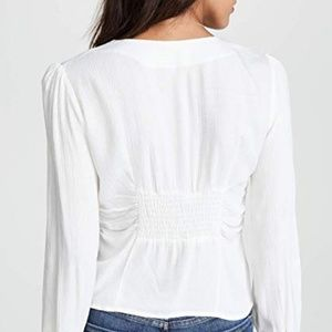 Free People Tops - Free people maize top